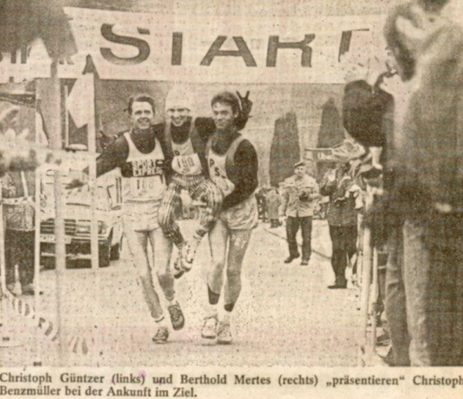 Zieleinlauf 1987